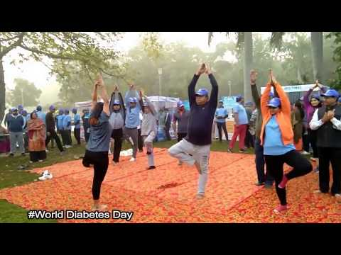 World Diabetes Day || Town Park || Asian Institute of Medical Science || Faridabad