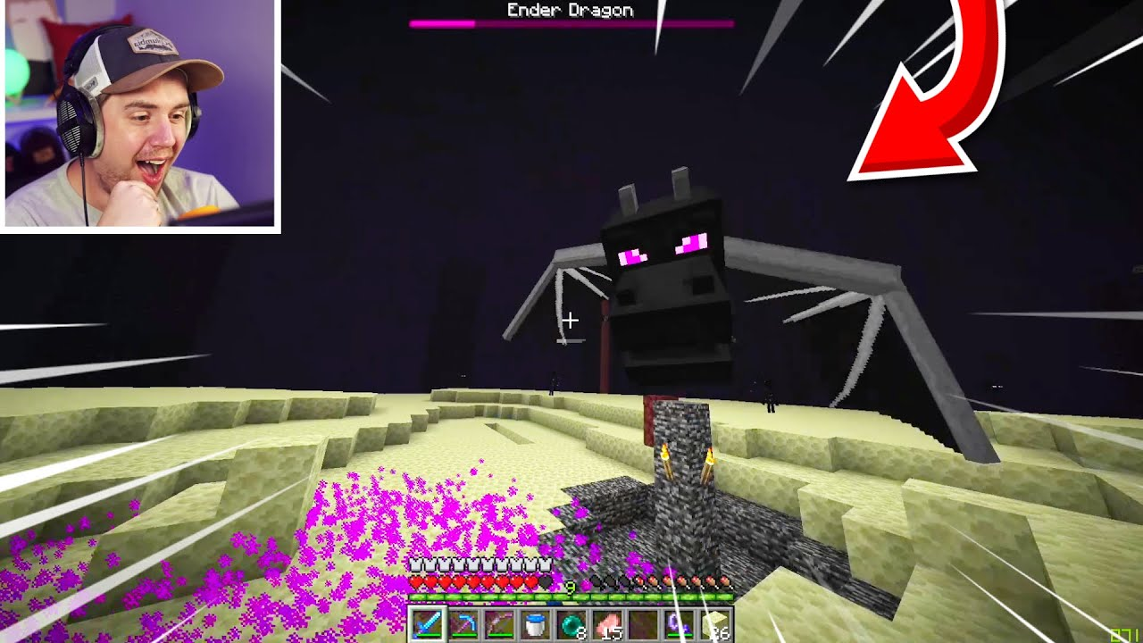 """Beating Minecraft on """"Baby Mode"""" Difficulty! Part 2"""