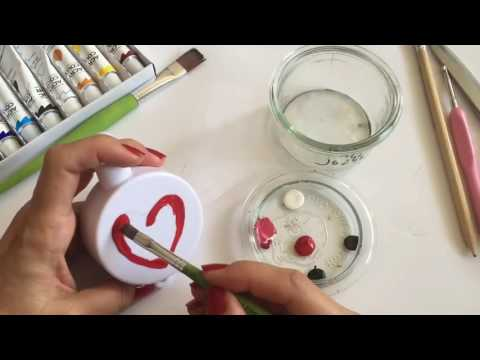 Handmade musical mobile for baby crib tutorial