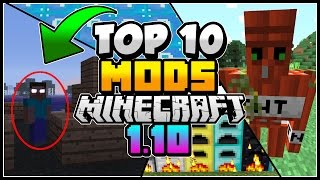 Today we review 10 minecraft mods for minecraft version 1.10.2 aswe...