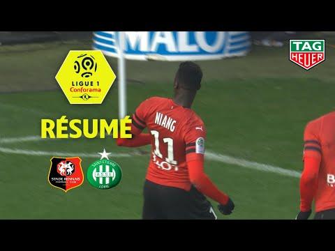 Stade Rennais FC - AS Saint-Etienne ( 3-0 ) - Résumé - (SRFC - ASSE) / 2018-19
