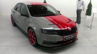 Škoda Rapid Sport (LIVE statické video)