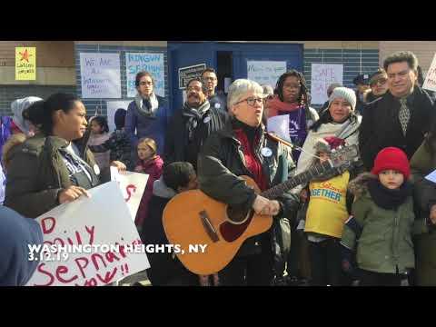 Castle Bridge School #FamiliesBelongTogether Rally