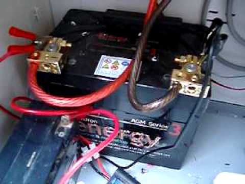 12v Battery And Inverter Sign Youtube