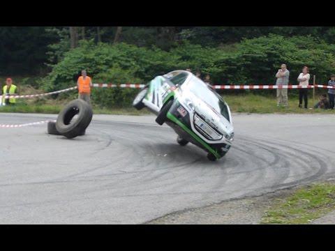 Rally Lubeník 2015 Action & Crash