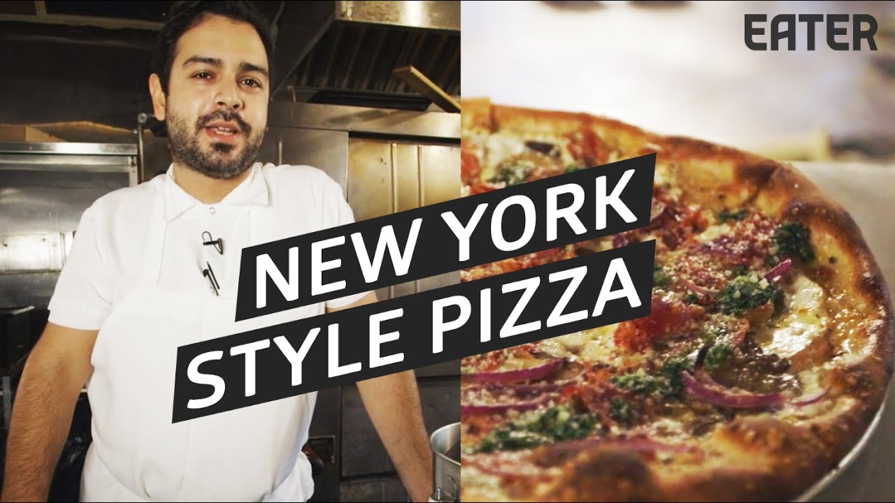 how to make new york style pizza youtube. Black Bedroom Furniture Sets. Home Design Ideas