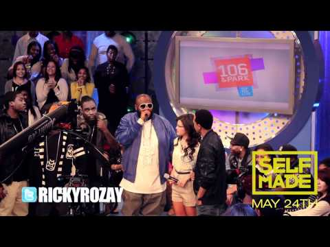 RICK ROSS AND MAYBACH MUSIC GROUP 106 & PARK TAKEOVER