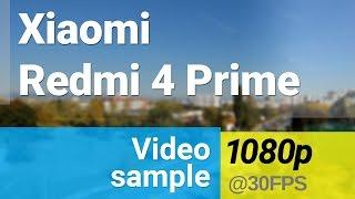 Xiaomi Redmi 4 Prime 1080p/30fps video sample