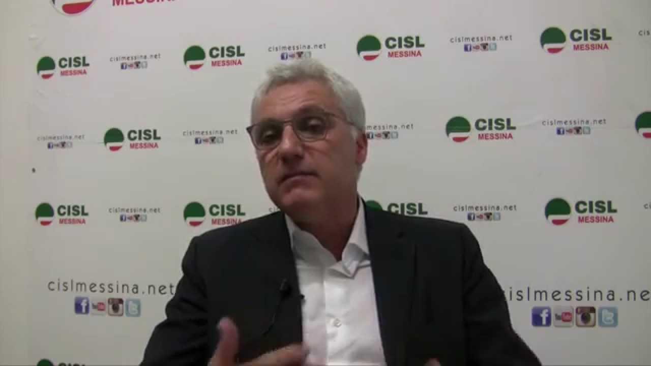 Maurizio bernava da messina alla cisl nazionale youtube for Bernava volantino messina
