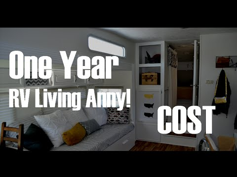 One Year RV Living Anny - Cost of RV Living