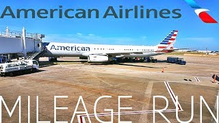 American airlines BUSINESS mileage run ATL-CLT-DFW-AUS