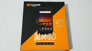 ZTE Tempo X Unboxing & First Look (Boost Mobile)