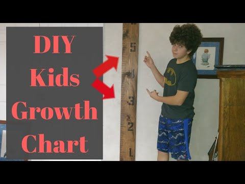 How to Make a Kids Growth Chart (the easy way)