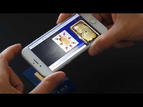 AVAILABLE NOW!: VERISCAN Anti-Counterfeit Gold Bullion Mobile App