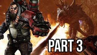 Evolve Gameplay Walkthrough - Part 3 - BURN MONSTER BURN!! (XB1/PS4/PC 1080p HD)