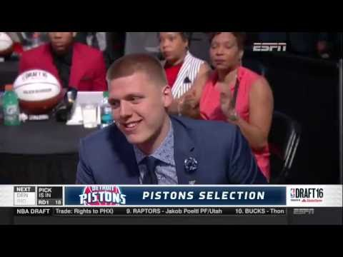 Detroit Pistons select Henry Ellenson 18th overall in the 2016 NBA Draft
