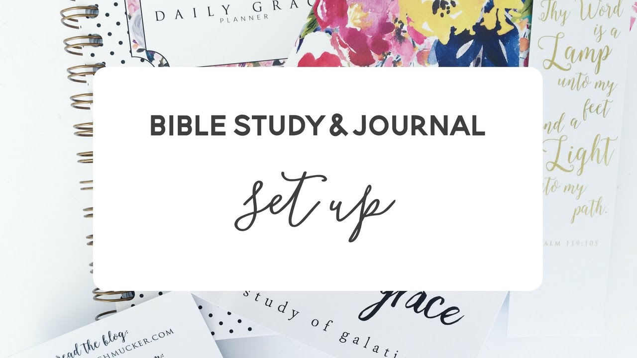 how to make a study journal
