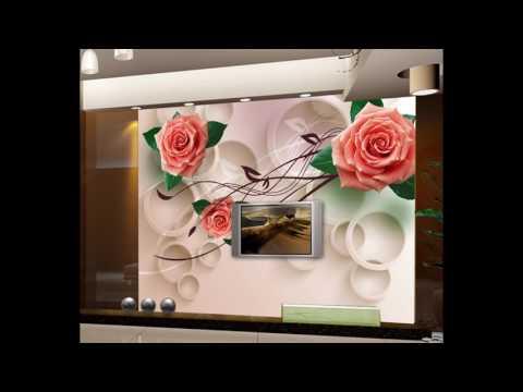 3D фотообои каталог