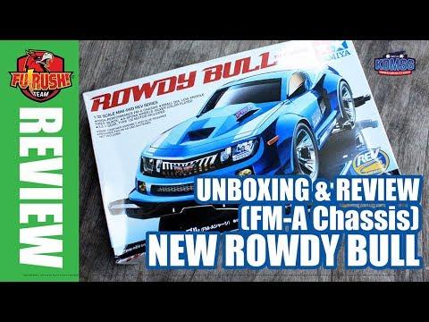 ミニ四駆 Mini 4WD Unboxing Rowdy Bull (New FM-A Chassis)