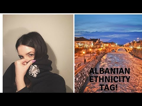 Albanian Ethnicity Tag! My first English video | Cozy Beauty