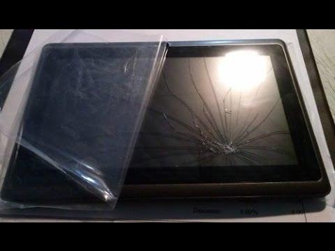 utilizar tablet con touch que no funciona por estrellada