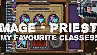 Hearthstone Arena - [Kibler] Mage-Priest Dual Arena Run.