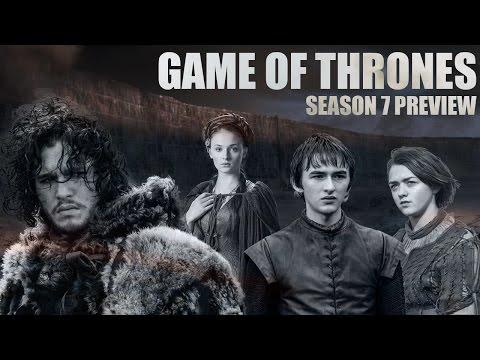 Game of Thrones - Season 7 Preview Part 2! (Jon, Sansa, Arya, Bran and the Night's King)