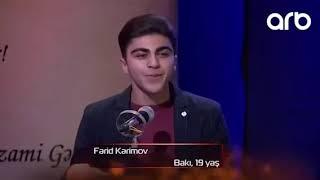 Ferid Kerimov sevgi seiri 2018 xalqin sairi