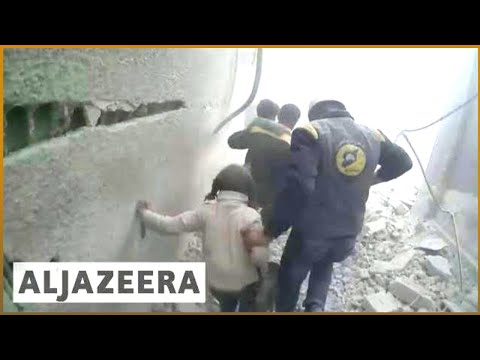 🇸🇾 Besieged civilians in Eastern Ghouta await UN aid