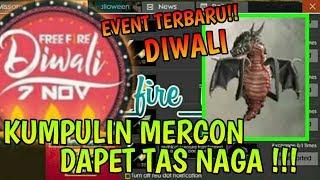 BOCORAN EVENT TERBARU YANG BELUM DIRILIS FREE FIRE - BISA DAPETIN TAS NAGA