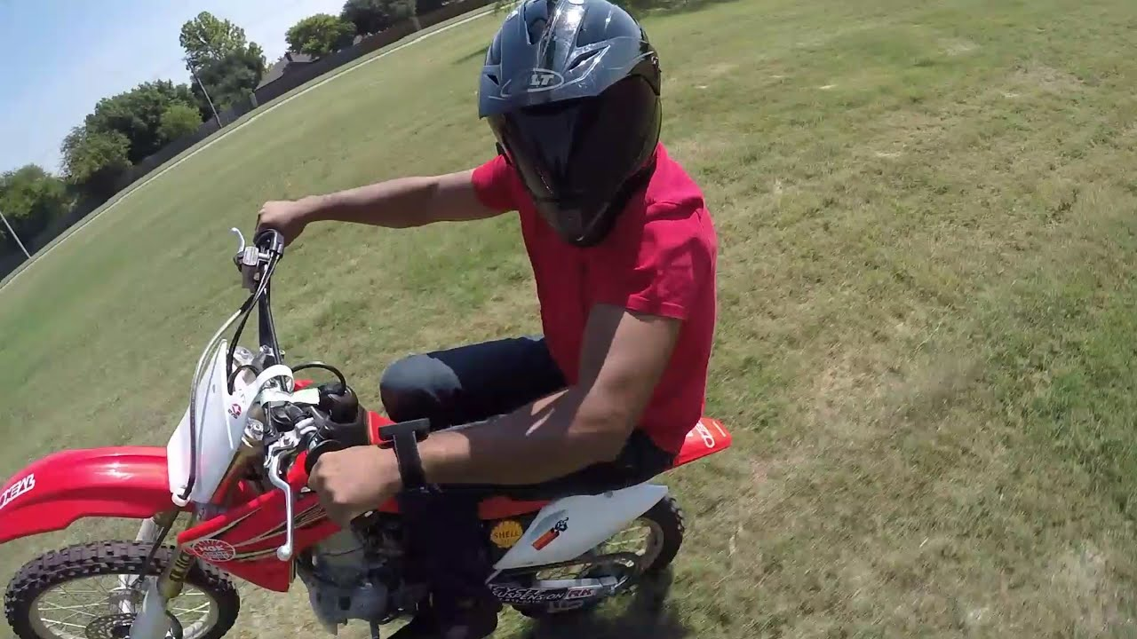 gopro honda crf150rb crf150r expert wheelie youtube
