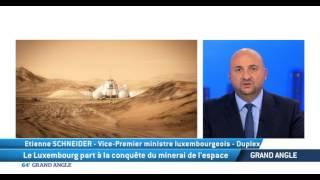 Le Luxembourg part à la conquête du minerai de l'espace
