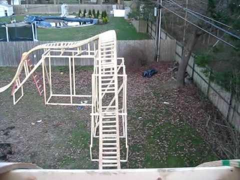 My Backyard Roller coaster: Pov 12/13/11 - YouTube