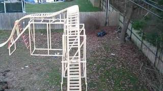 My Backyard Roller coaster: Pov 12/13/11
