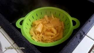How To Make An Italian Summer Pasta Paccheri - DIY Food & Drinks Tutorial - Guidecentral
