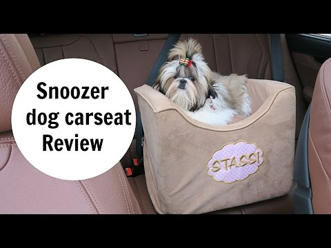 Snoozer Lookout Dog Carseat Review Youtube