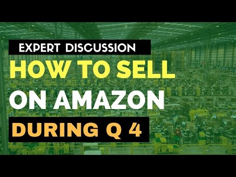 HOW TO SELL ON AMAZON THIS Q4 - GREEN ROOM ALL STAR SHOW