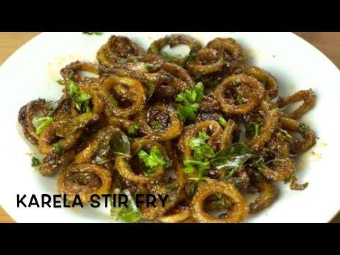 Karela Stir fry recipe | Easy Karela Subzi | Kanchala Fry | Bitter Gourd Fry