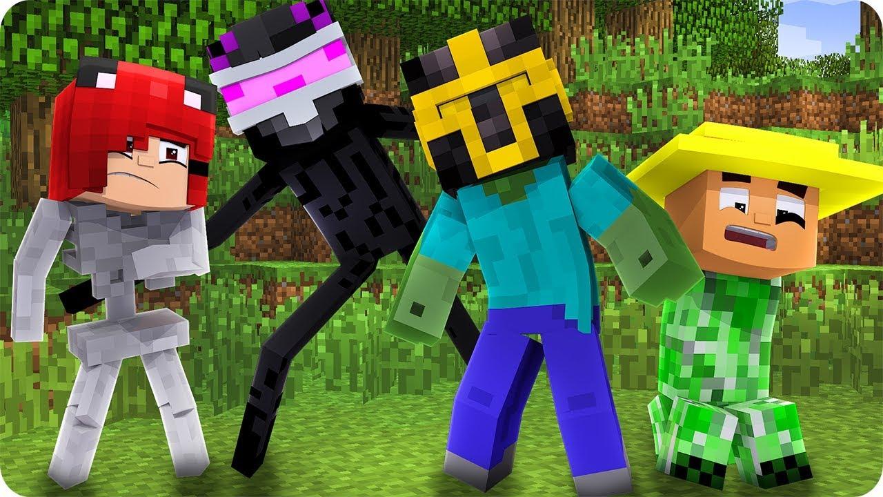 Nos Convertimos En Mobs En Minecraft Massi Thewikihow