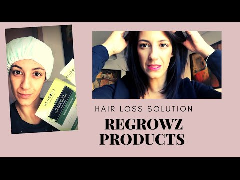 Baldness And Hair Loss Treatment, Grow Hair Faster 100% Natural And Effective (REGROWZ Review)