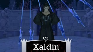 KH 2.5 HD ReMix - Level 1 Data Xaldin (no damage/with restrictions)