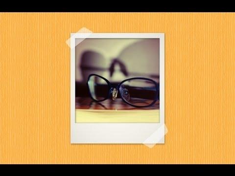 polaroid photo frame in gimp 2 8 youtube