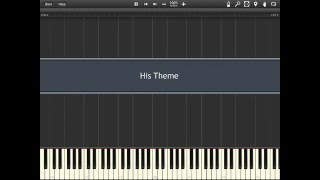 His Theme - Undertale [Synthesia]