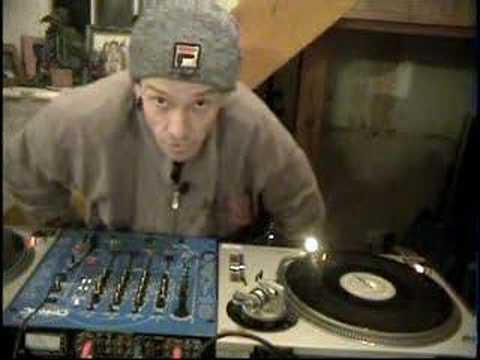 Dj help,Basic transform cut used in scratching; djtutor