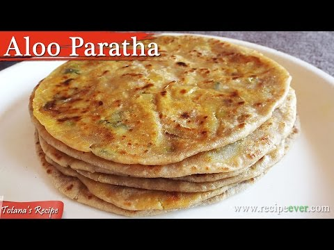 Aloo Paratha Recipe- stuffed paratha recipe | Aloo Paratha recipe in Bengali | Breakfast Recipes