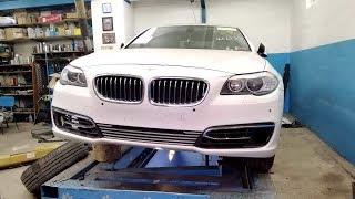 BMW 535i.  Сборка авто в кучу.   ФИНИШ.
