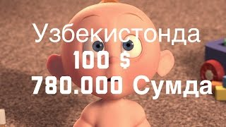 Доллар курси  100$ 800 ming So'm