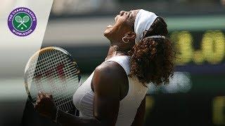 Serena Williams v Elena Dementieva: Wimbledon Semi-final, 2009 (Extended Highlights)