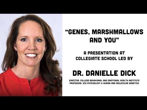 Dr. Danielle Dick Presents at Collegiate School