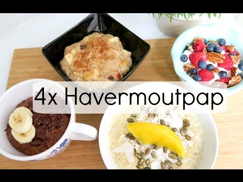 4x Havermoutpap -